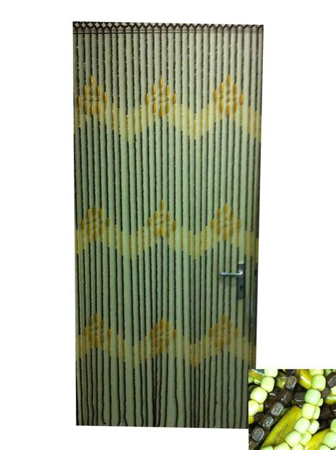 Bamboo Beaded Curtains For Doorways Beaded Curtains Feel The Home