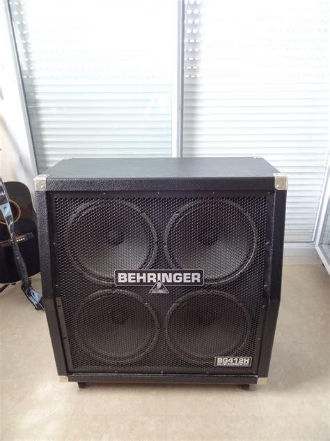 Behringer Ultrastack Bg412h Image 658354 Audiofanzine Behringer 4x12 Guitar Cabinet