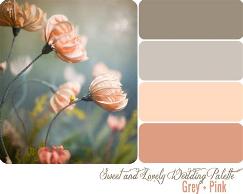 pink and grey color scheme 10 tips to choose the perfect wedding colours everafterguide