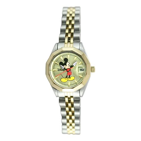 disney two tone mickey mouse with date