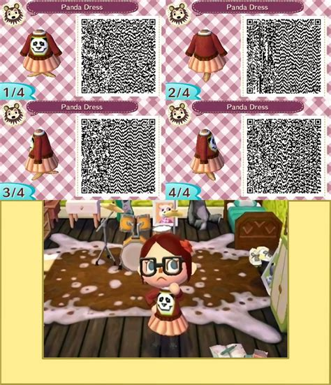 deviantart more like animal crossing new leaf qr anna from panda dress qr code animal crossing new leaf by
