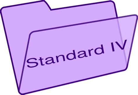 Large Standard L by Standard Iv Clip At Clker Vector Clip