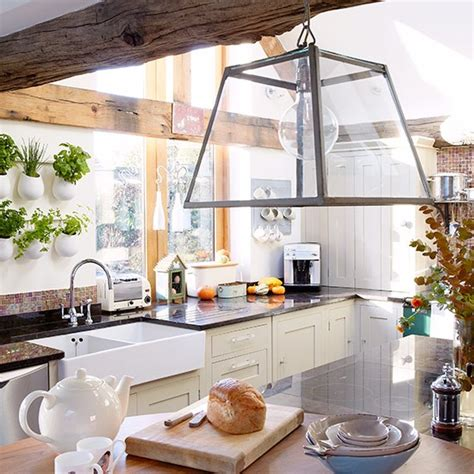country kitchen lighting ideas country kitchen pictures house to home