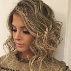 and wavy hairstyles curly wavy short hairstyles and haircuts for ladies 2018