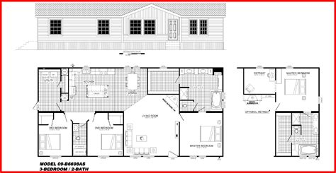 Mobile Homes Floor Plans by Buccaneer Mobile Home Floor Plans Floor Matttroy