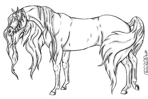 arabian horse coloring pages car interior design