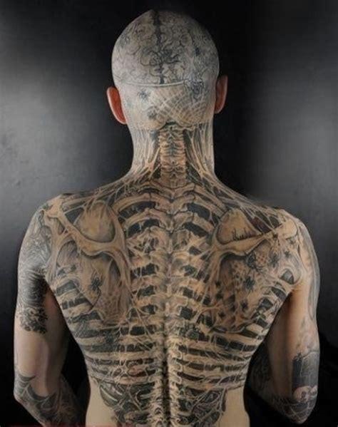 求男生头像 纹身图 类似这种的 要全身纹身的 百度知道