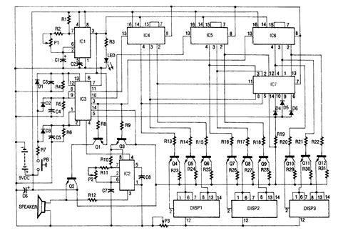 slot machine diagram electronic slot machine electrical equipment circuit