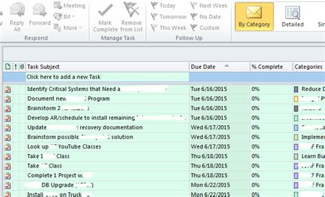 onenote task management template turn outlook into a project management tool with onenote