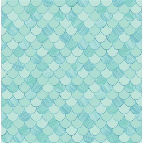 Pink Dining Room Chairs Catalina Scales Wallpaper In Aqua From The Tortuga