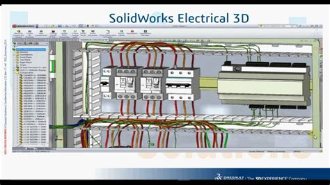 tutorial solidworks electrical 3d solidworks electrical 3d youtube