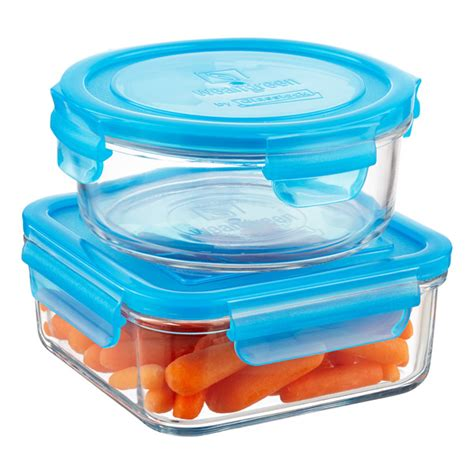 glass food storage containers with lids glass food storage containers with blue lids the