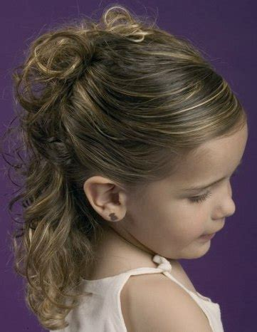 peinados de ninas para flower girls peinados f 225 ciles para ni 241 as