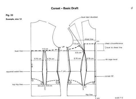 pattern making basic bodice from dress block to corset pinterest corsets bodice