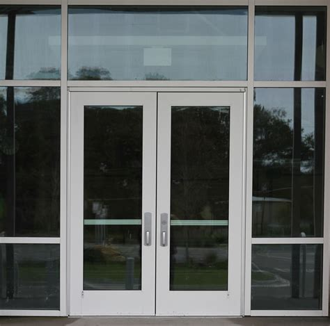 Commercial Exterior Doors With Glass Commercial Glass Door Entrance Texture 14textures