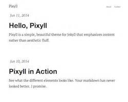 jekyll themes for github pages top 22 224 free open source static website jekyll themes