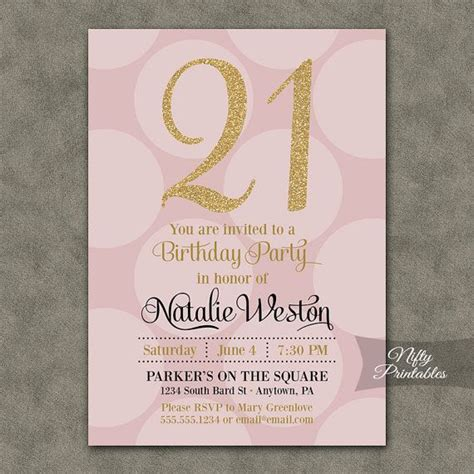 21 birthday invitation templates 1000 ideas about 21st birthday invitations on