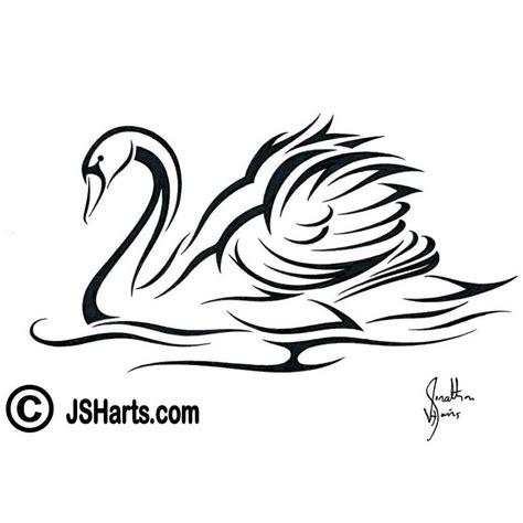 tribal swan tattoo designs tribal swan design by jsharts on deviantart