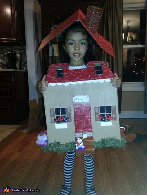 alice  wonderland stuck   house halloween costume