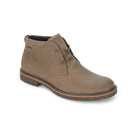 rockport boots rockport ledge hill water proof chukka boot rockport