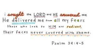 psalm 34 4 5 bible verses posts love scriptures