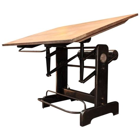 adjustable drafting table industrial adjustable architect s drafting table