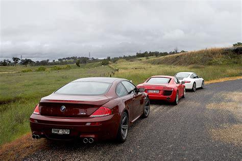 Bmw M6 Vs Porsche 911 audi r8 vs porsche 911 s vs bmw m6 classic motor