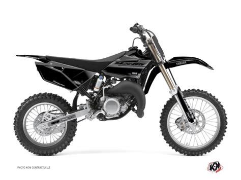 Kyt Cross White Black kit graphique moto cross black matte yamaha 85 yz noir
