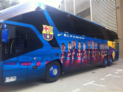 Auto Bus by Auto Bus Barcelona 2012 2013 Barcelona Football Blog