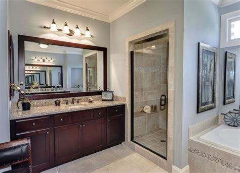 mirror design ideas wooden framing large bathroom mirrors