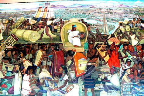imagenes de uñas aztecas el mercado de tlatelolco los aztecas