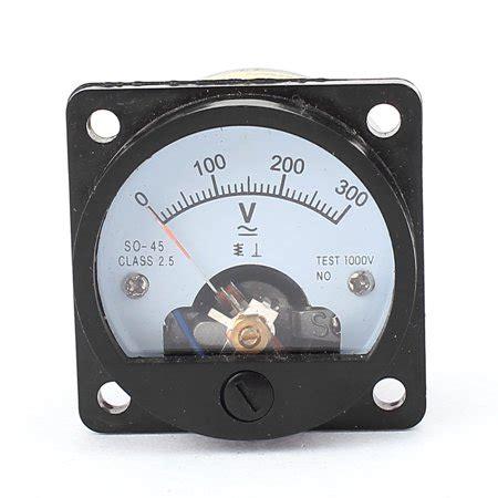 ac 0 300v analog panel voltmeter voltage meter measuring