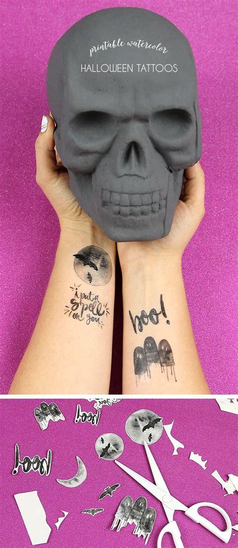 temporary tattoos print printable watercolor tattoos watercolors