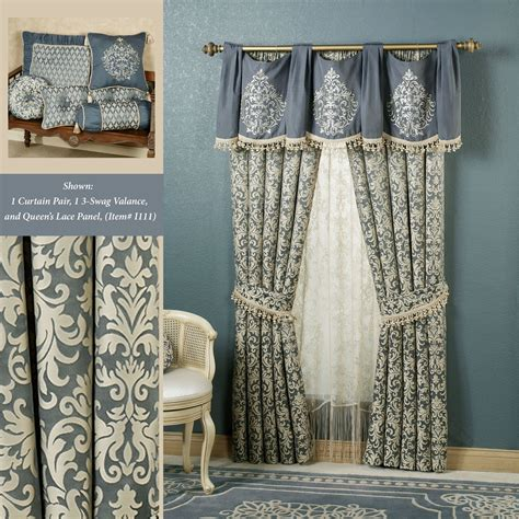 damask window curtains sterling damask window treatments