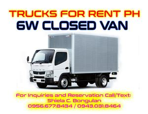 10 wheeler open truck for rent 6 wheeler closed truck para 241 aque free classifieds