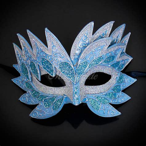 sea unicorn mardi gras venetian masquerade mask for