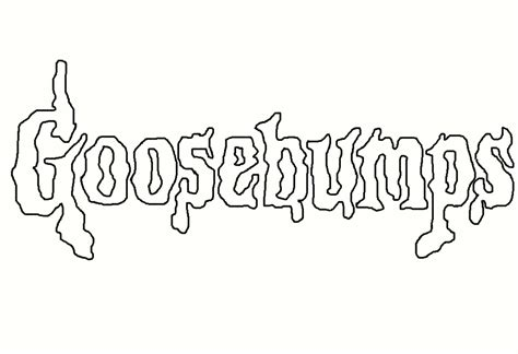 goosebumps coloring pages printable goosebumps book cover coloring book pages coloring pages