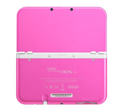 nintendo handheld 3ds xl pink two new coloured new 3ds xl consoles coming to aus