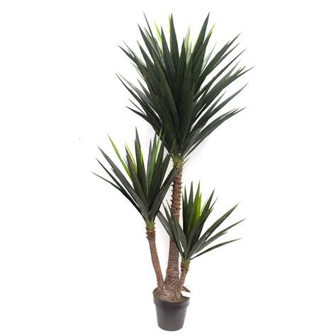 Fake Outdoor Topiary Trees - artificial yucca tree 1 6m with 127 leaves