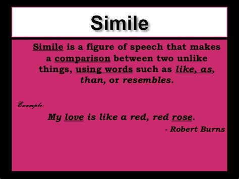 Poem With Figures Of Speech Sle intro to poetry types and terms