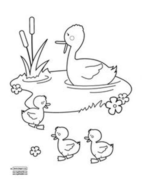 coloring pages ducks in a pond monkey template for lukas s quiet book toddling into