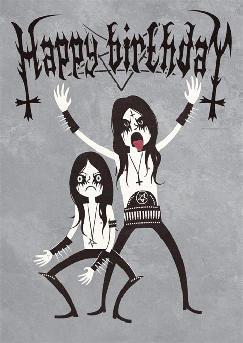 Black Birthday Meme - black metal birthday by nemons on deviantart design