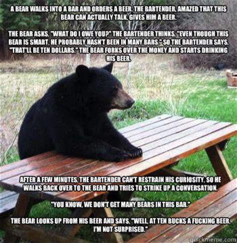 Bear At Picnic Table Meme - floating picnic table memes