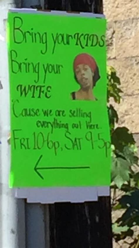 30 honest yard sale signs these all are hilariously brutal