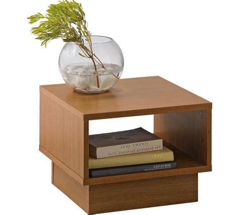 Oak Effect Side Table Buy Home Cubes 1 Shelf End Table Oak Effect At Argos Co Uk Your Shop For Coffee
