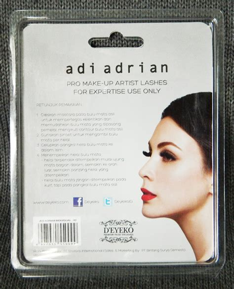 Pinset Bulu Mata By Sasa Lashes review d eyeko adi adrian lashes eotd