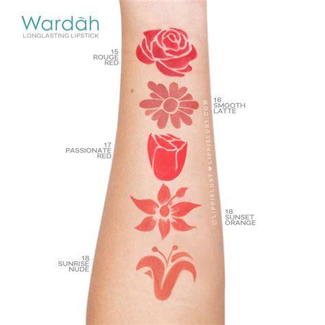 Wondershine Lipstick Wardah swatch review wardah lasting lipstick
