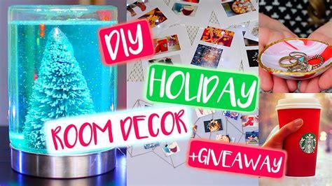 diy tumblr holiday room decor diy christmas giveaway