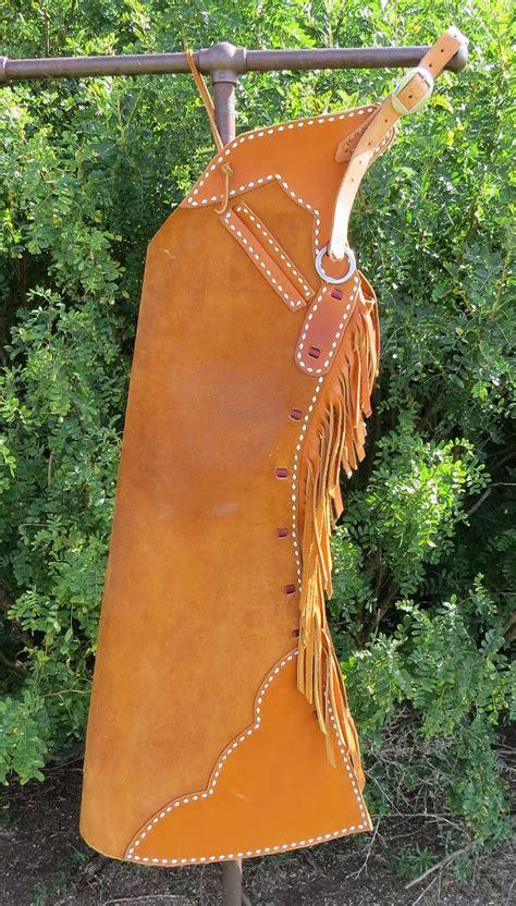 Handmade Cowboy - 8713 handmade dustin tucker buckstitched step in chaps