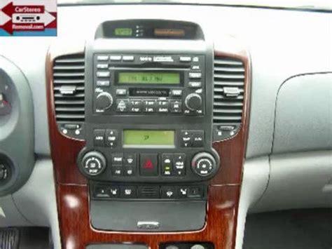 kia sedona radio kia sedona stereo removal